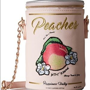 Betsey Johnson Ain't She a Peach Crossbody Bag